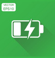 battery charge level indicator icon business vector image vector image