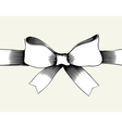 Bow with ribbon vector | Price: 1 Credit (USD $1)