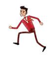 businessman cartoon icon image vector image vector image