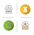 clothes donating icon vector image