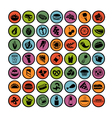 food icons set 3 vector image