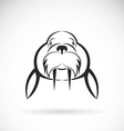 image of Sea lion design on white background vector image vector image