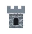 medieval castle design vector image vector image