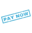 Pay Now Rubber Stamp vector image vector image