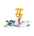 mathematics science and algebra concept tiny