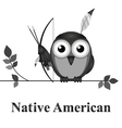 Native American vector image vector image