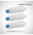 abstract arrows vector image vector image
