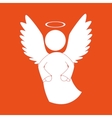 beautiful angel design vector image