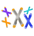 chromosome vector image vector image