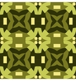 Green seamless pattern made from man figures vector image vector image