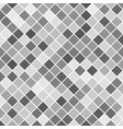 grey square pattern background from diagonal vector image vector image