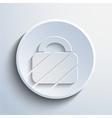 padlock web icon background vector image vector image