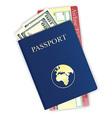 passport 07 vector image vector image