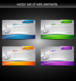 web prodct display vector image