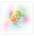 Abstract colorful bright grunge background vector image vector image