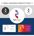 abstract energy identity pack concept good vector image vector image