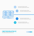 book education lesson study infographics template vector image