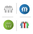 charity organization icon vector image