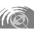 circular rotation background vector image vector image