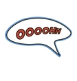Comic sound effect vector image vector image