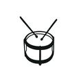 Drums musical instruments drumstick drum vector image