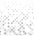grey square pattern background - from diagonal vector image vector image