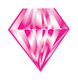 isolated diamond icon vector image