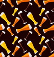 light dark and red beers seamless pattern vector image vector image
