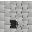 Lock Pavement vector image