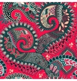 Paisley seamless pattern Ethnic ornamental floral vector image vector image