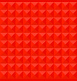 red mosaic pattern background polygonal vector image