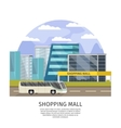 Shopping Mall Orthogonal Design vector image
