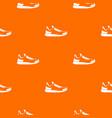 sneaker pattern seamless vector image vector image