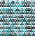 triangle blue seamless vector image