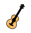 Acoustic guitar music instrument