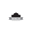 Berlin Germany city symbol vector image vector image