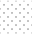 fleur de lis seamless pattern background vector image vector image