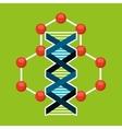 molecule particle laboratory scientific vector image vector image