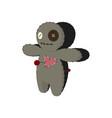 printvoodoo doll cartoon horror elements spooky vector image vector image