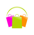 shopping shopping center symbol design vector image