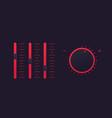 slider bar and control knob regulator vector image vector image