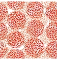seamless pattern Modern floral texture vector image