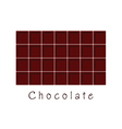 chocolate food vector image
