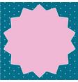 flat design empty esp template vector image vector image