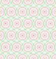 Floral abstract seamless pattern vector image vector image