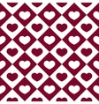 Graphic Hearts Pattern vector image vector image