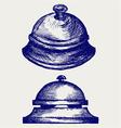 Ring alarm service vector image vector image