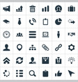 set of simple interaction vector image vector image