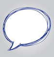 Speech bubble vector image vector image