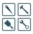 tools icon set icon design vector image vector image